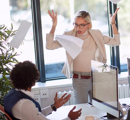 La colère dans le management